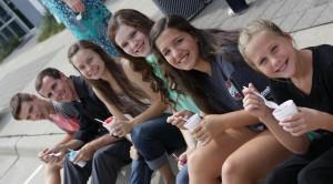 Youth Group IceCream Photo