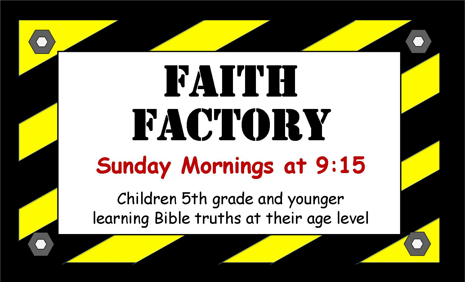 09-2013 Faith Factory