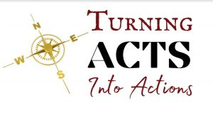 Turning Acts into Action: A sermon series